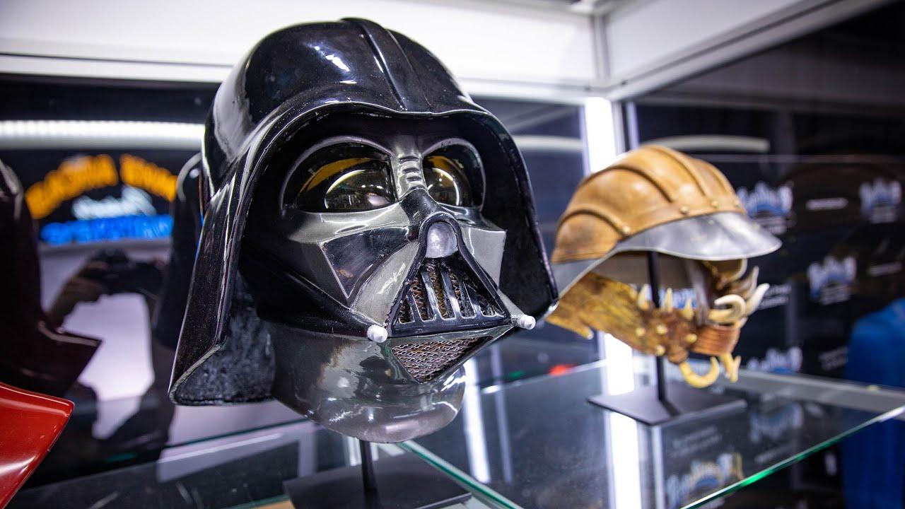 Adam Savage Meets Original Star Wars Props!