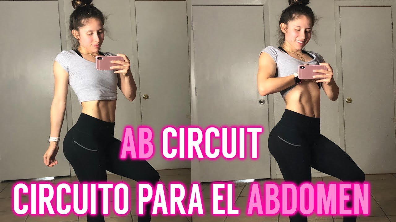 Circuito Hiit En Casa : Circuito para el abdomen ab circuit en casa home workout