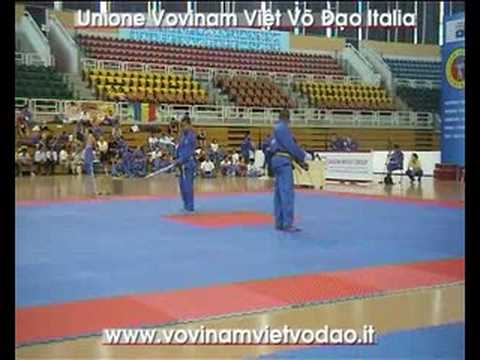 3rd Vovinam VVD World Champ. Song Luyen Kiem Francia