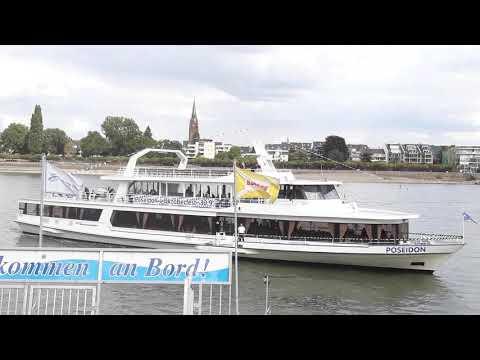 De Poseidon waarmee we van Bonn terug vaarden naar Konigswinter.