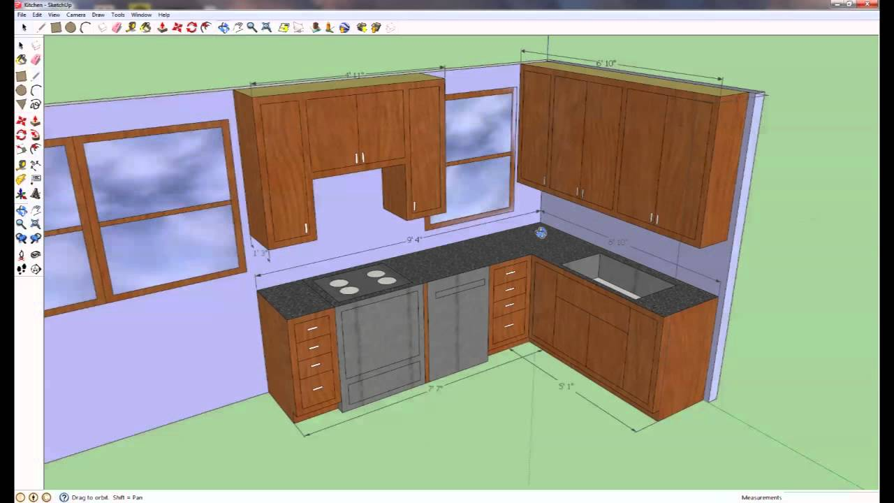 how to build your own kitchen cabinets: kitchen overview - youtube