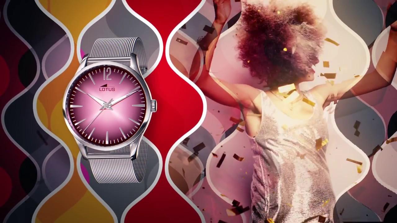 865eaaeafbd6 Reloj Lotus Revival - Lotus Watches 2016 - YouTube