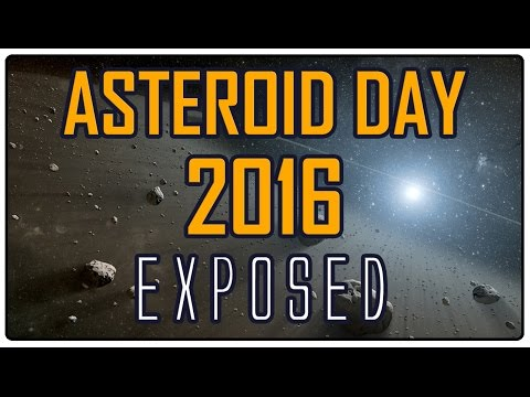 Asteroid day 2016 (the first flat earth one!)