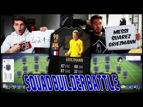 GRIEZMANN Barcelona Transfer Squad Builder Battle vs. WAKEZ! ⚽🔥 Fifa 18 Ultimate Team Deutsch