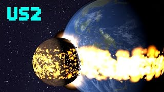 SPINNING EARTH TO DEATH!  - Universe Sandbox 2