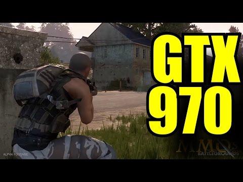 PlayerUnknown's Battlegrounds GTX 970 OC | 1080p Ultra - High & Medium | FRAME-RATE TEST