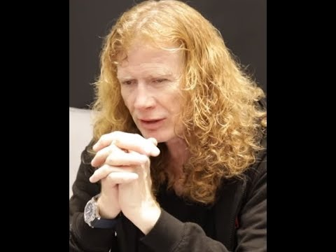Megadeth Frontman Dave Mustaine diagnosed with throat cancer...