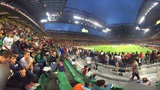 Diretta stadio Milan Roma 2-1