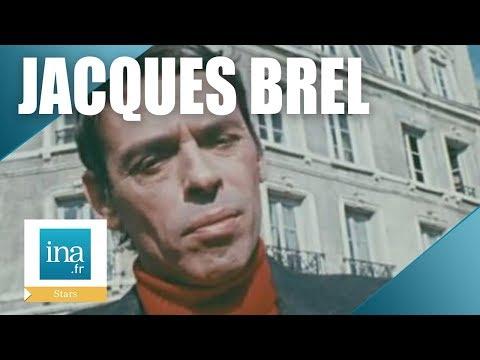 """Jacques Brel """"Ce n'est pas normal de chanter devant des gens"""" - Archive INA"""