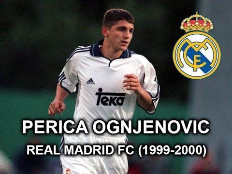 PERICA OGNJENOVIC REAL MADRID CF