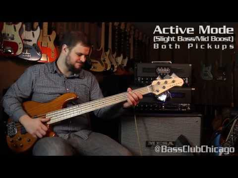 Mesa Boogie Strategy Tube Bass Head Demo by Bass Club Chicago