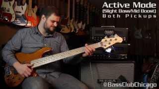 Mesa Boogie Strategy Tube Bass Head Demo by Bass Club Chicago