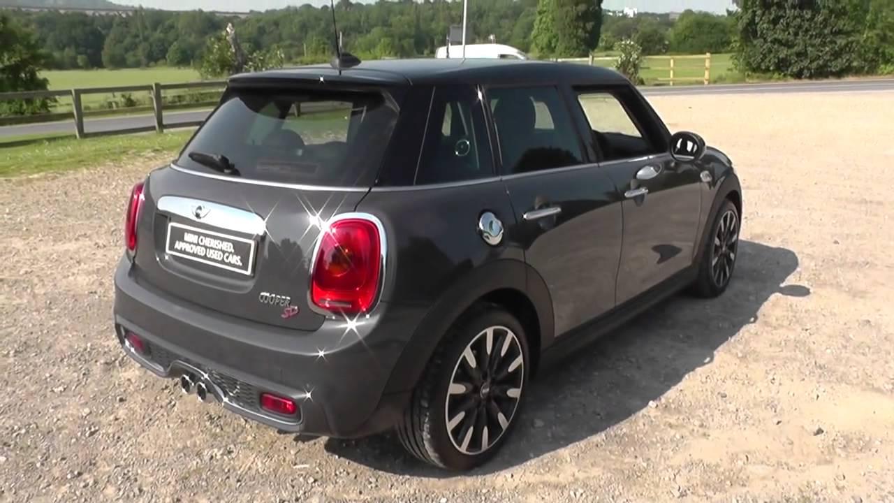 mini mini 5 door hatch f55 cooper sd 5 door hatch 2 0 xt72 u5255 youtube