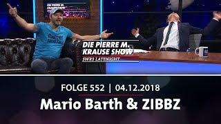 Die Pierre M. Krause Show vom 04.12.2018 mit Pierre M., Mario und ZIBBZ