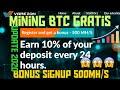 Free 500 MH/S New mining bitcoin - YouTube