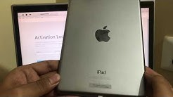 Permanent iCloud unlock on all iPad| Activation lock remove on iPad|New  2018