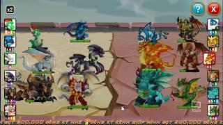 ✔️RỒNG 6VS3 Đánh Bại Boss Khủng Long Bạo Chúa Mới Nhất HIGH FERRAL DRAGON New