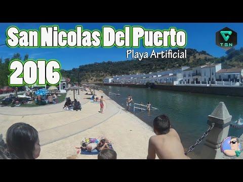 Playa Artificial Sevilla San Nicolas del Puerto
