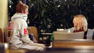 Video So Romantic! Justin Bieber And Selena Gomez Cozy After Church download MP3, 3GP, MP4, WEBM, AVI, FLV Maret 2018