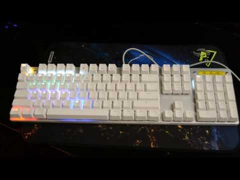 Metoo ZERO Mechanical Keyboard 104keys