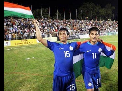 Torchbearers of indian Football-Sunil Chhetri and Baichung Bhutia