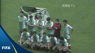 The surprises of the 1982 World Cup