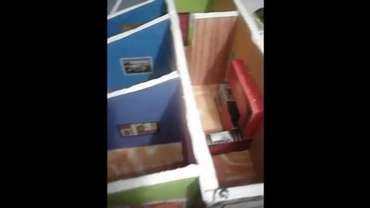 como hacer la maqueta de una casa a escala para trabajo manual youtube