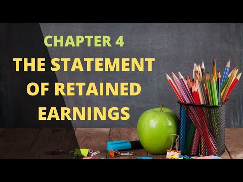 Chapter 4, Video 2, Statement of Retained Earnings