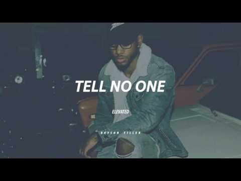 tell no one || Bryson Tiller TYPE BEAT