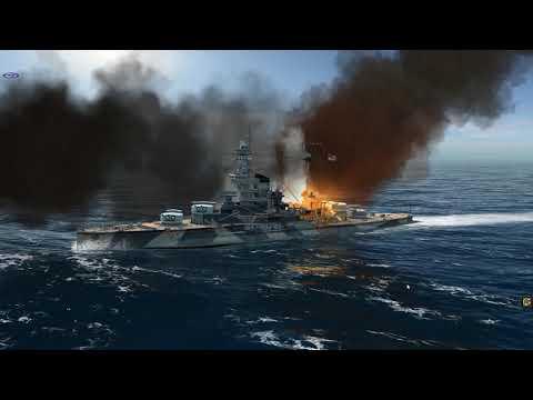 Atlantic Fleet 3 British Battleships vs 2 H-39 class Battleships