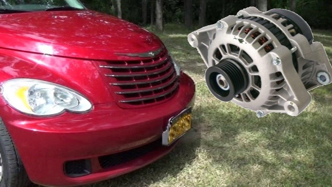 PT Cruiser Alternator Replacement  Complicated As Usual