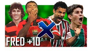 TOP 10 GOLAÇOS DO FLA X FLU