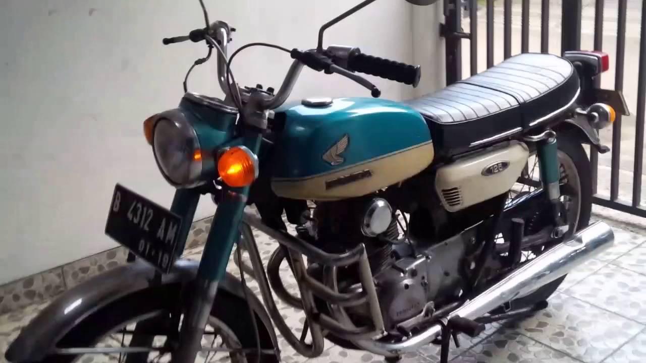 Honda 125 T 1970 Retro Klasik Youtube 125cc Motorcycle