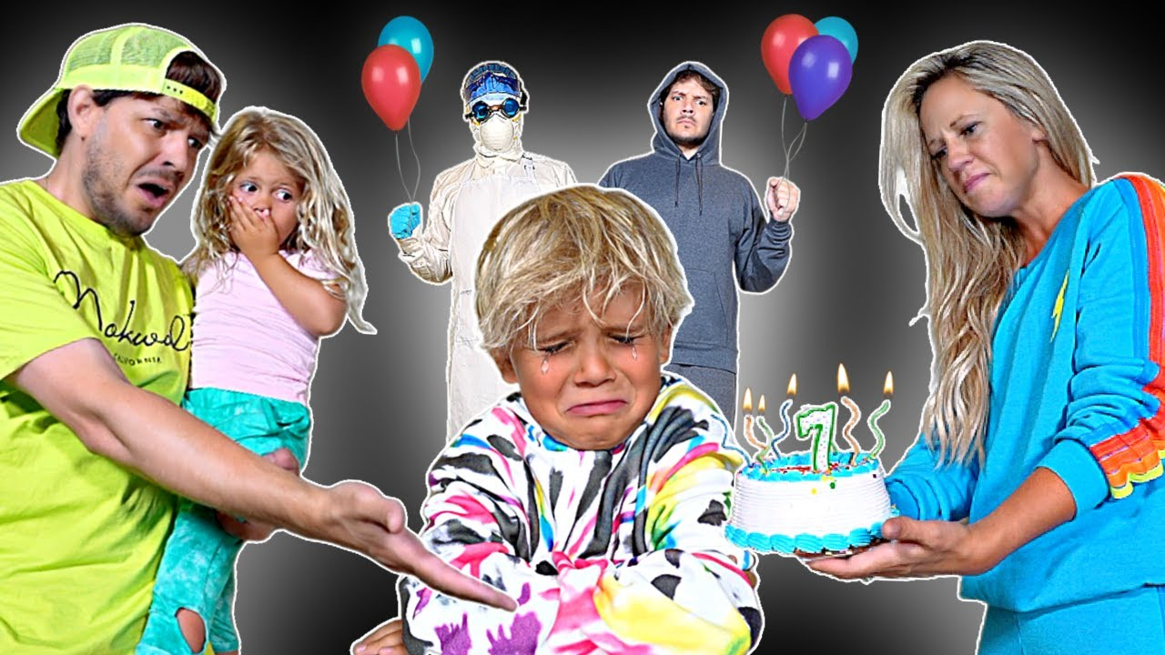 Someone made Tydus CRY at his BIRTHDAY PARTY!