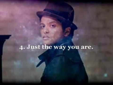 My Top. 10 Bruno Mars songs.