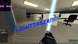 Roblox Phantom Forces I Have a Lightsaber update!!!