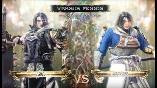 Asra (Samurai Shodown 64: Warriors Rage) vs Mitsuhide Akechi (Samurai Warriors 3)