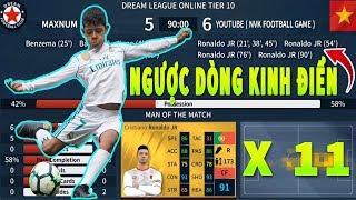 Ra mắt 11 Ronaldo JR và cái kết Dream League Soccer 2019