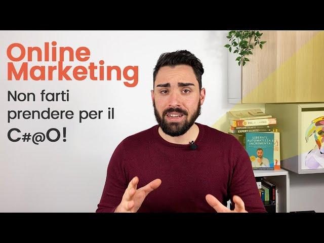 Online Marketing   Non farti prendere per il CxxO! Strategie e Consigli