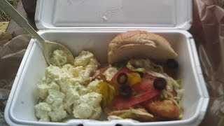 Shur Fine Fish Sandwich + 1st & Main Deli Potato Salad