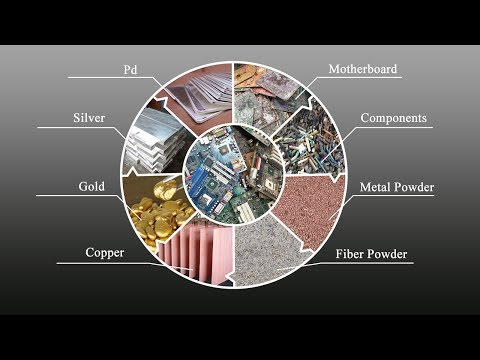 E Waste Recycling Plant | PCB Board Recycling And Gold Refining Process (Suny Group)