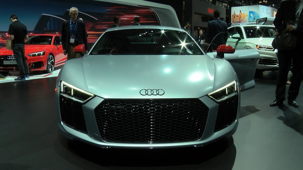 Get A First Look At Audi S 165 000 Sports Car With Laser Lights