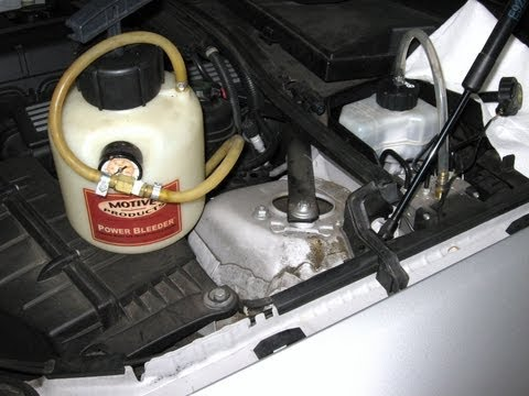 BMW brake fluid flush bleed and reset service reminder by froggy