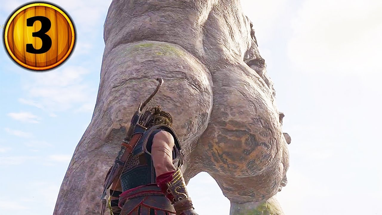 Assassins Creed® Odyssey what happens when u climb on the