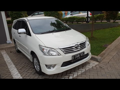 In Depth Tour Toyota Grand New Kijang Innova 2.0 G (2013) - Indonesia
