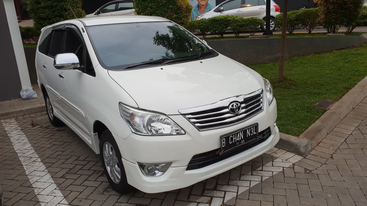 Grand New Kijang Innova Luxury In Depth Tour Toyota 2 0 G 2013 Indonesia