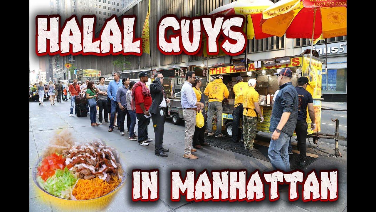 Halal guys in New York  YouTube