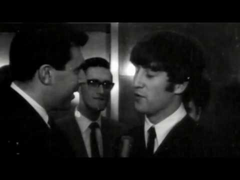 'Eric' Lennon introduces himself to the press after The Beatles' first US concert. #8DaysDVD