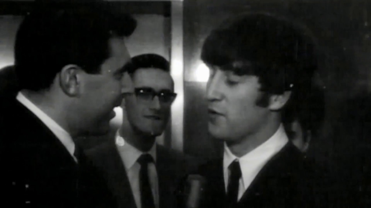 'Eric' Lennon introduces himself to the press after The Beatles' first US  concert  #8DaysDVD