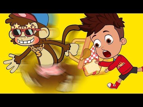 BANANA MONKEYS cool | Funny Cartoons for Children #48 | Funny Videos | Funny Momment | SM Cartoon TV